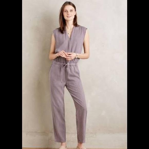 d7fe77f403b Anthropologie Pants - Anthro Cloth   Stone Mignon Crossfront Jumpsuit